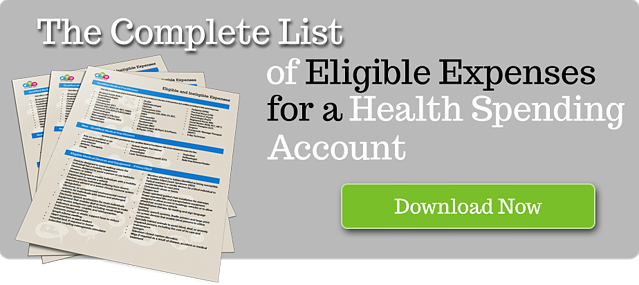 health spending account eligible expenses and deductions for small business in Canada