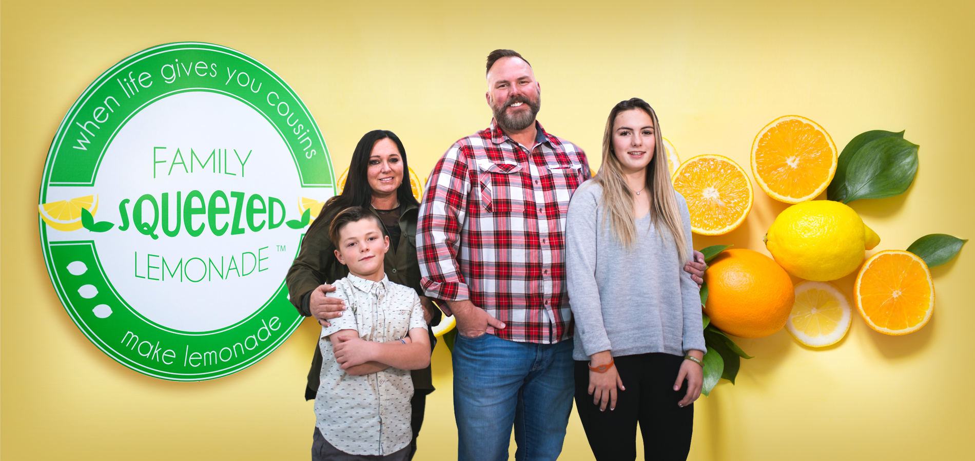 Family Squeezed Lemonade blog header