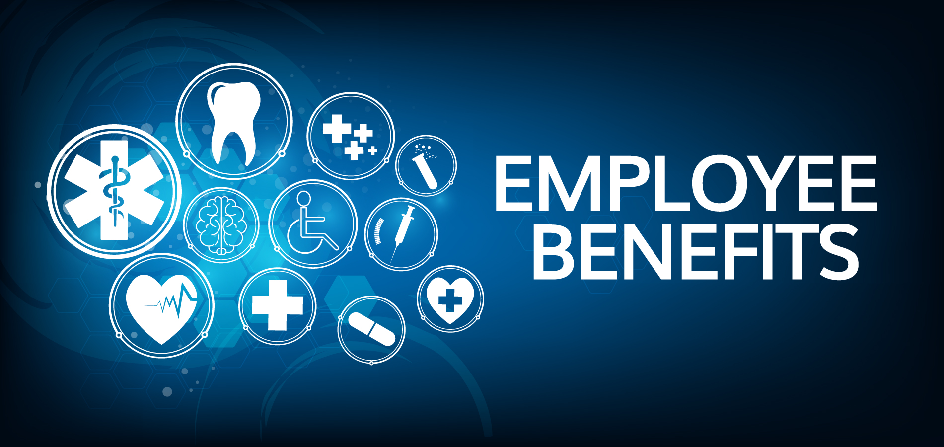 Health and dental coverage for employee benefits