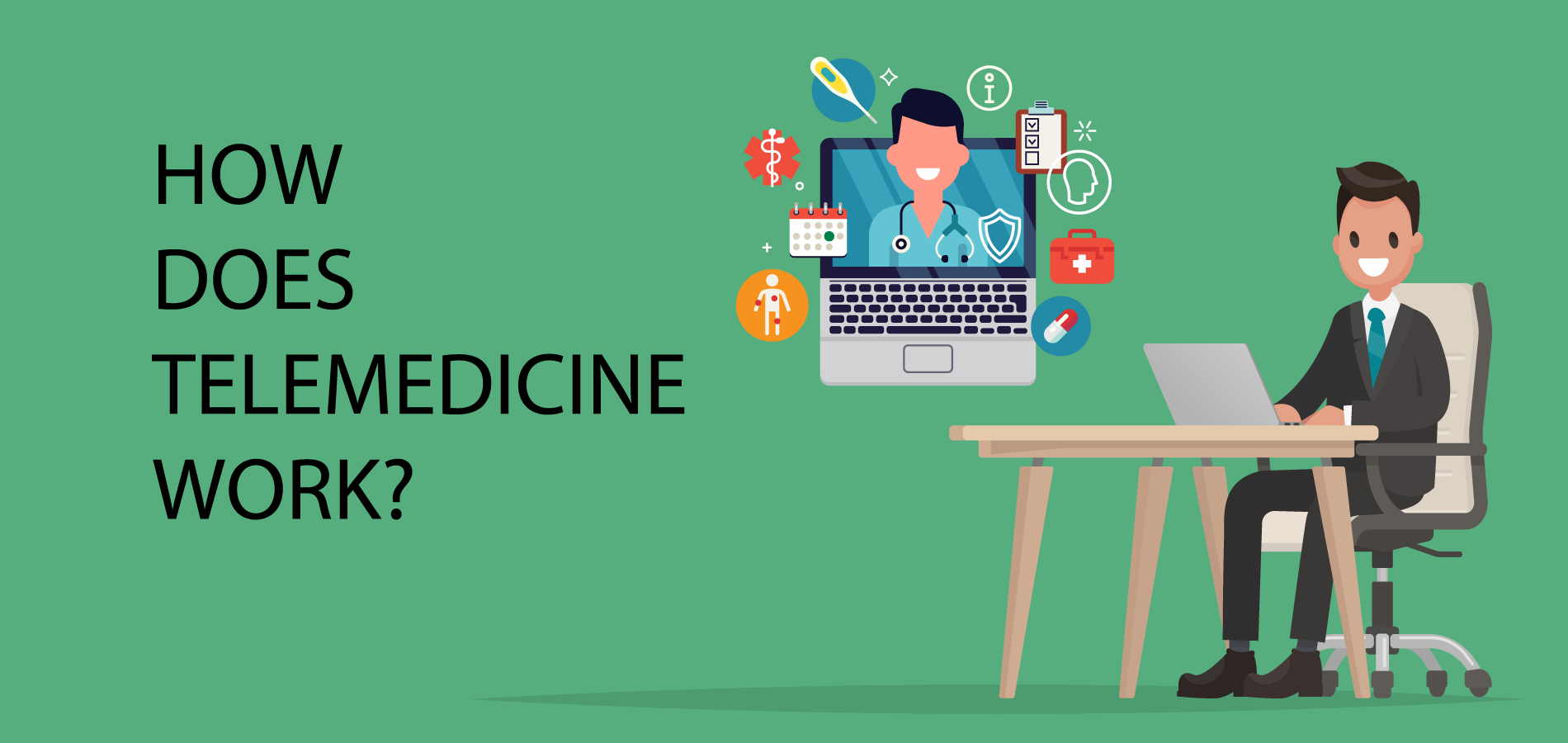 How does Telemedicine work for small business