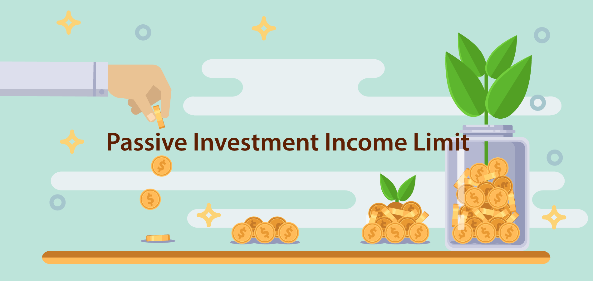 Passive Investment Income Limit - header image
