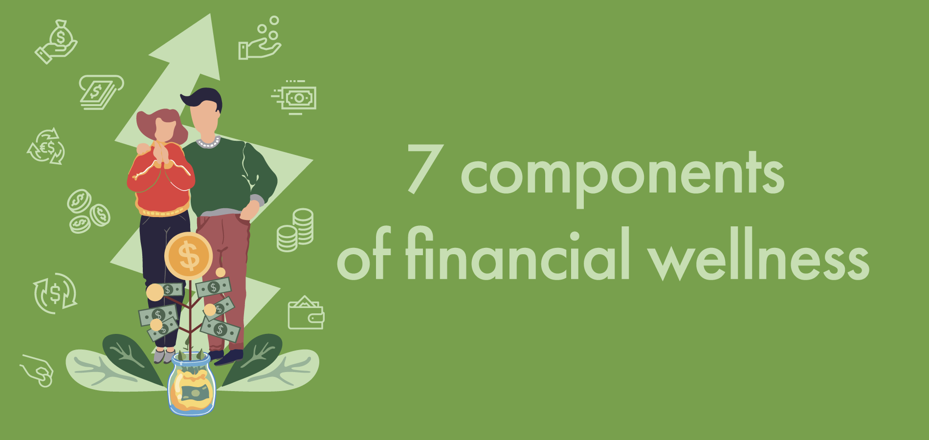 the 7 key components of financial wellness