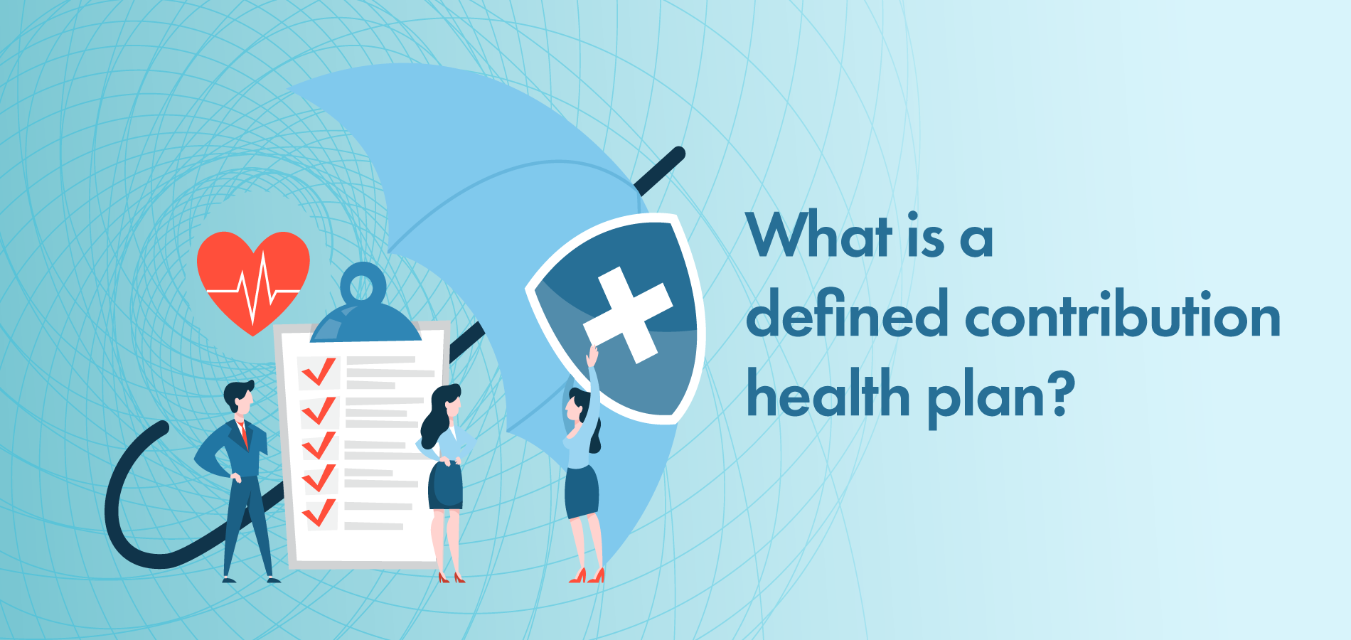 Defined contribution health plan banner