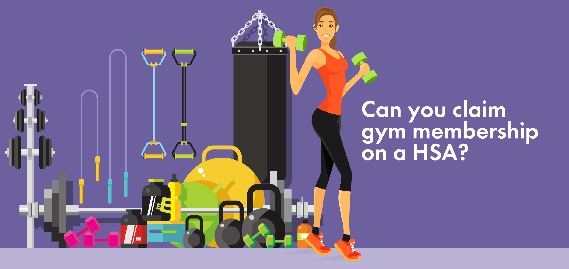 Can you claim gym membership on an HSA
