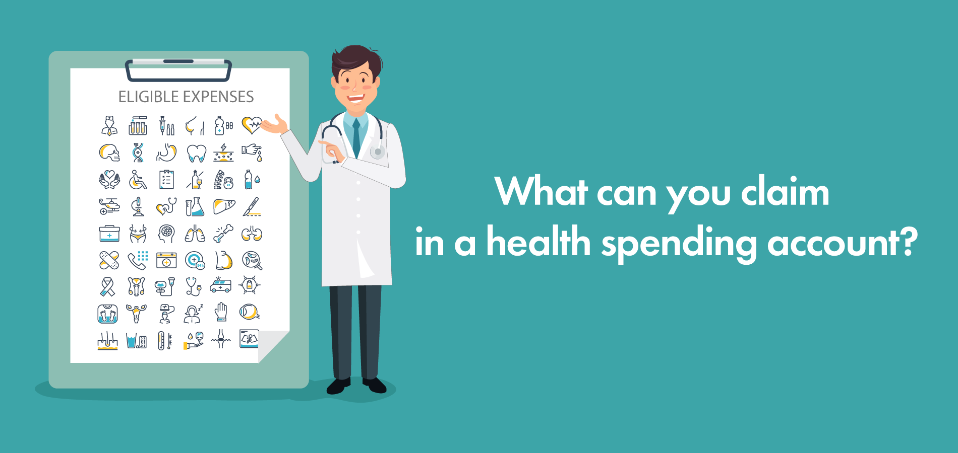 what can you claim in a health spending account eligible expenses list