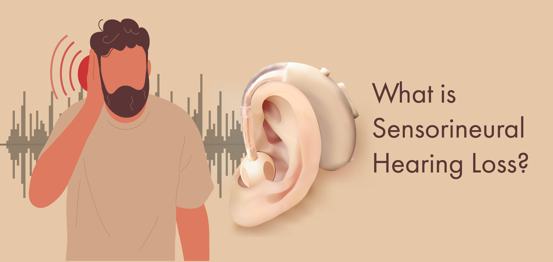 What is sensorineural hearing loss