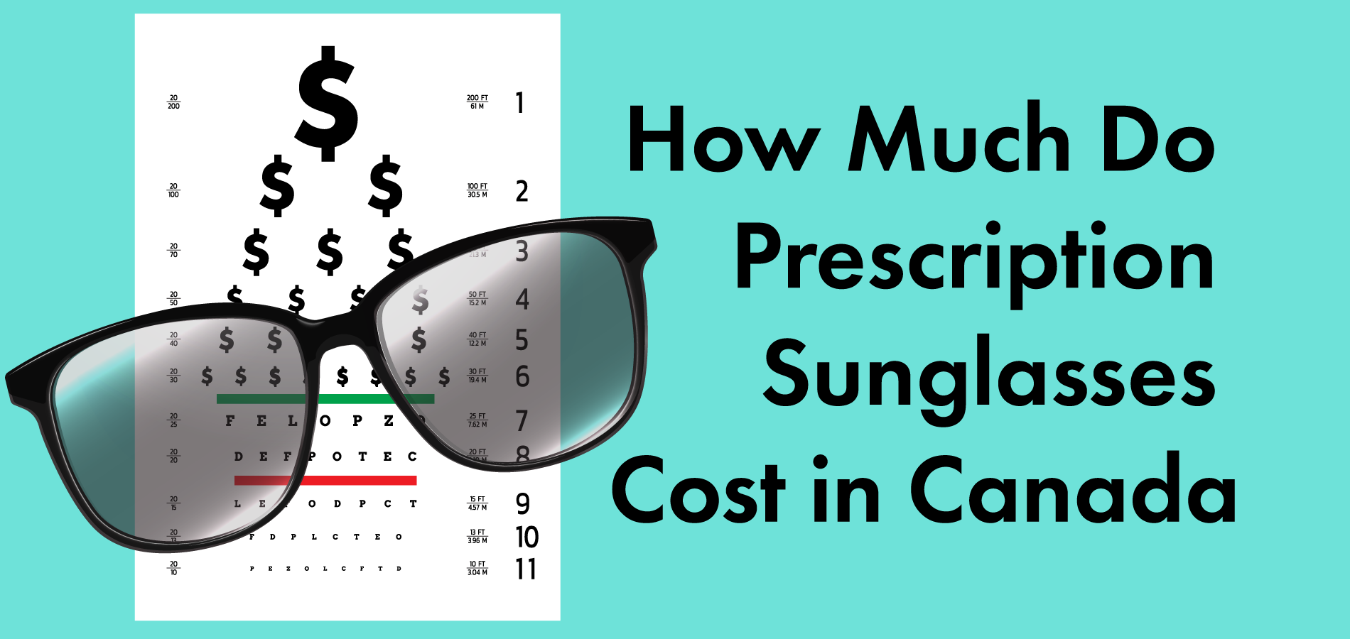 latest design popular stores wholesale sales How Much Do Prescription Sunglasses Cost in Canada?