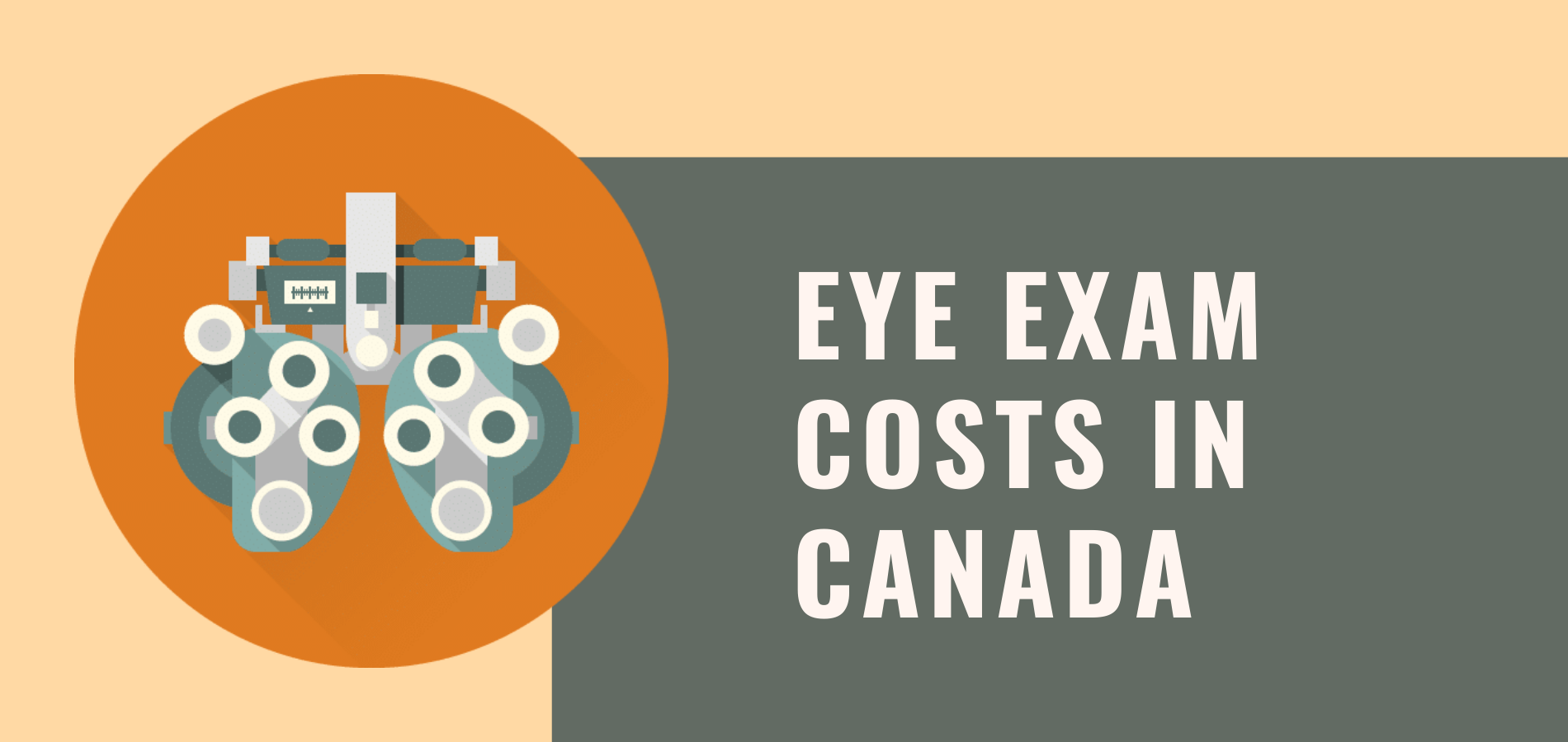 How Much Does An Eye Exam Cost in Canada