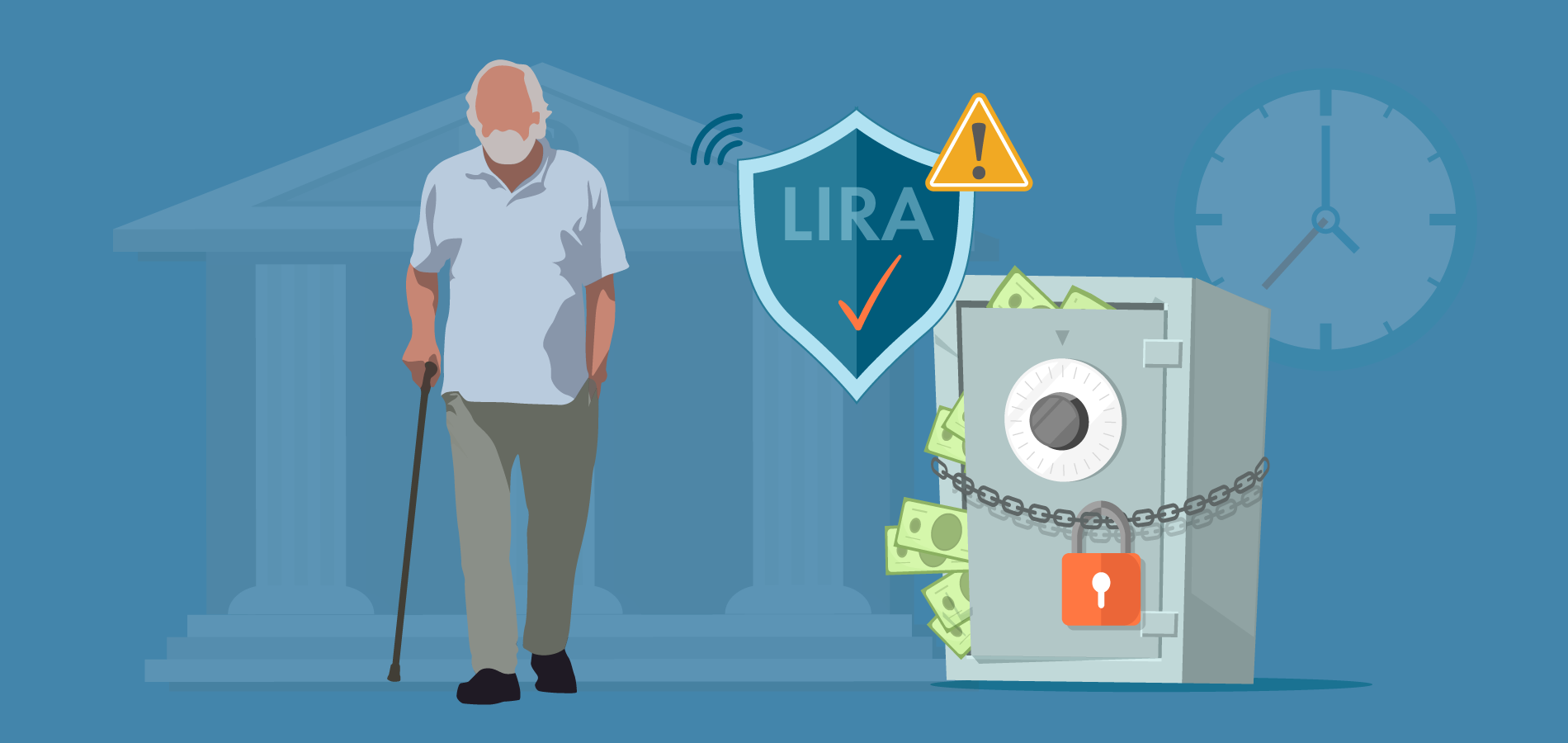 Locked in Retirement Account (LIRA)