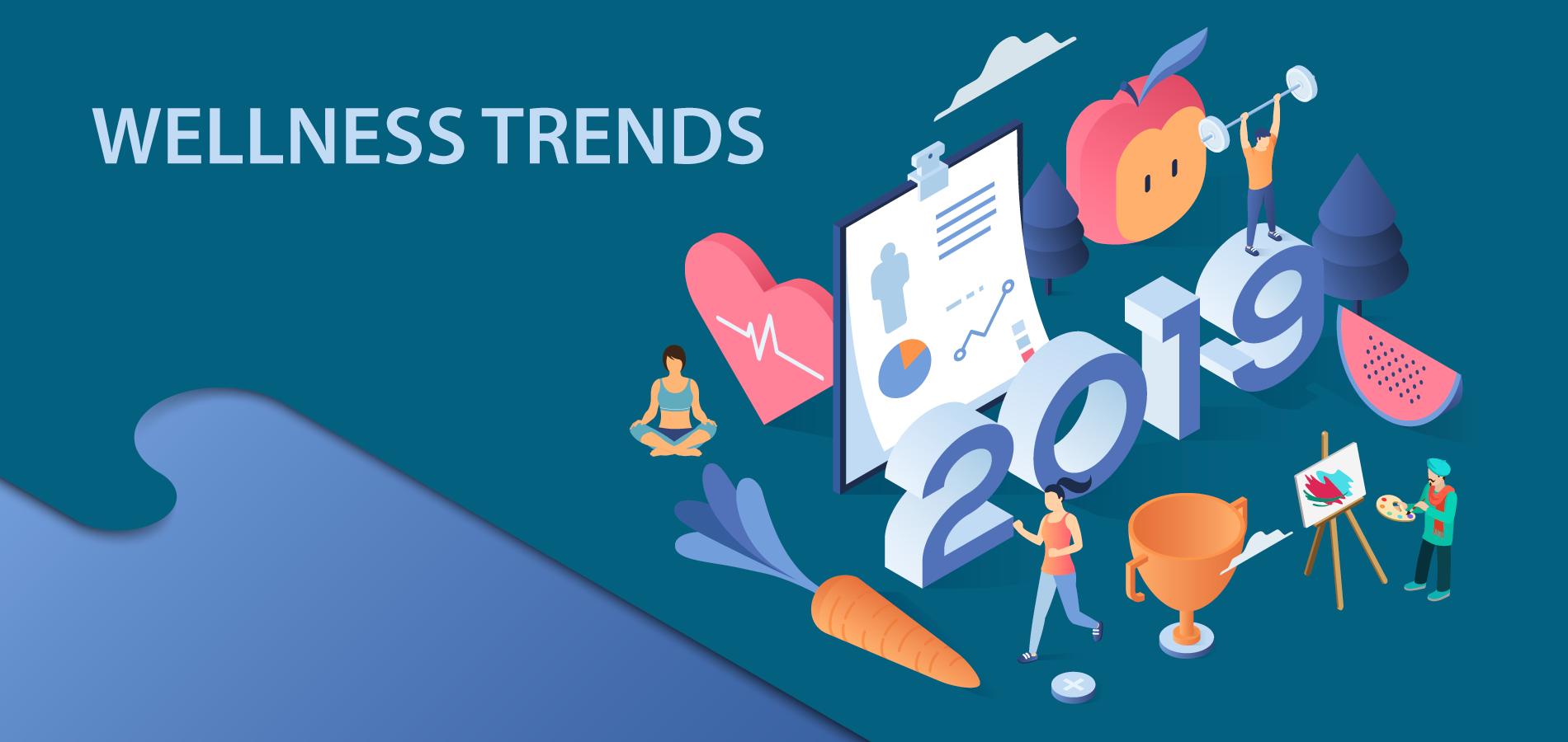 Wellness trends in 2019