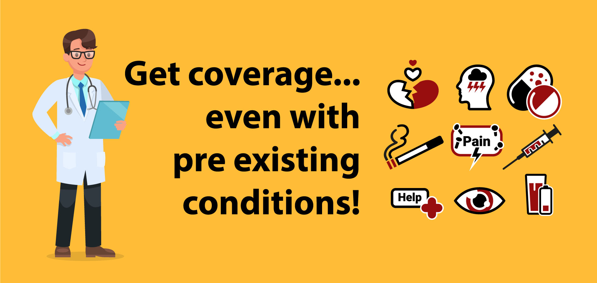 health insurance with pre existing conditions