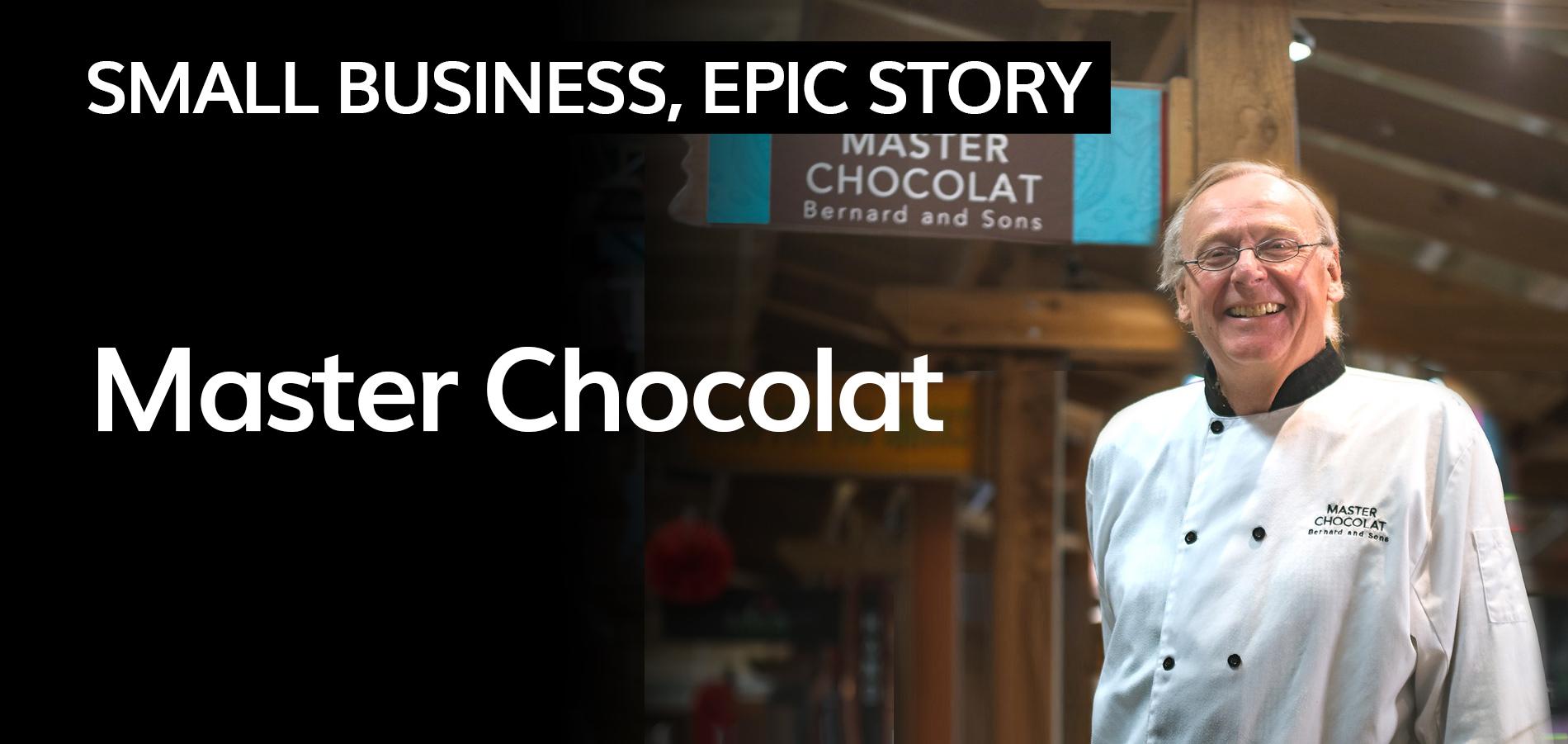 master chocolat cover photo bernard callebaut
