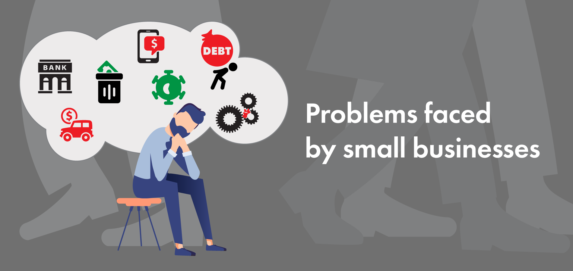 6 common problems faced by small businesses